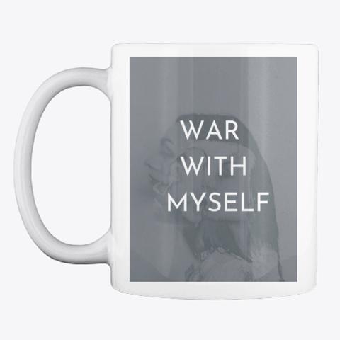 War with Myself mug